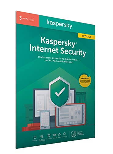 mächtig der welt Kaspersky Internet Security 2020 Update | 3 Devices | 1 Year | Windows / Mac / Android |…