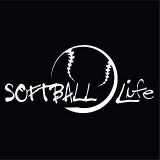Best softball life decal Reviews