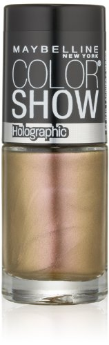 Maybelline New York Color Show Nail Lacquer, Alluring Rose.23 Fluid Ounce