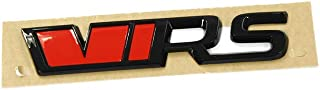 Skoda 565853687JXPC Schriftzug VRS schwarz Tuning Heckklappe Emblem Blackline Logo