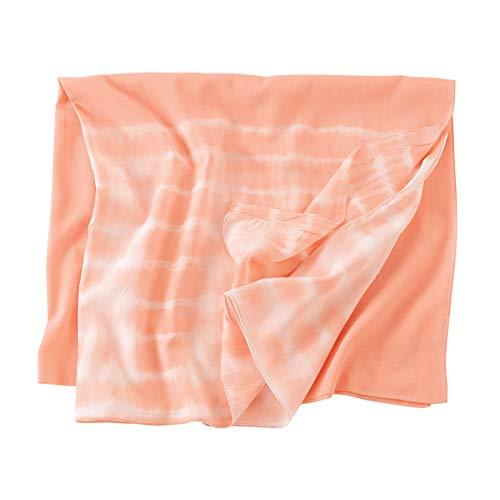 Mud Pie Women Tie Dye Scarves Blush Pink one size 80260029BS