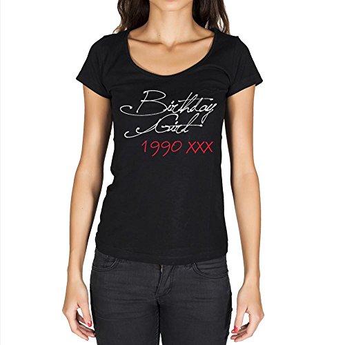 T Shirt Magliette Donna Estive Birthday Girl 1990 Regalo di Compleanno 31 Anni Maglietta Donna per Anni Regalo Donna