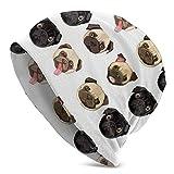 LENGDANU Gorro de punto unisex Slouchy Gorro de punto con calavera, color negro, Color 2, M