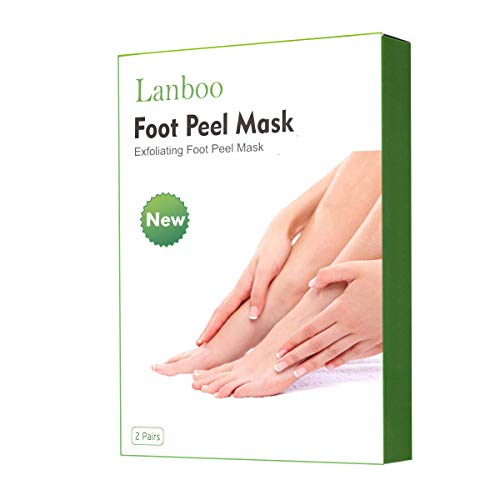 Foot Peel Mask - Foot Mask for Dry Dead Skin, Callus, Repair Rough Heels - Make Your Feet Baby Soft & Get Smooth Silky Skin - for Men & Women - 2 Pairs