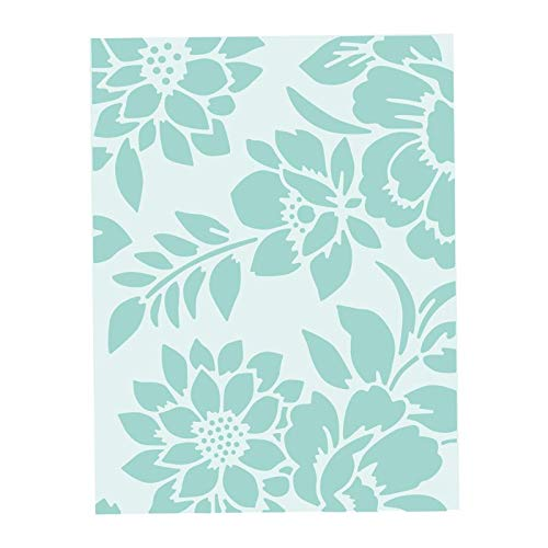 Sizzix Textured Impressions Embossing Folder 662606, Botanicals, One Size 662606-Carpeta para repujado (talla única), Botánicos