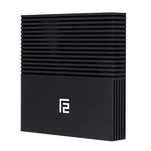 WiFi BT TV Box, A95X F2 S905X2 4G + 64G Dual-Band HD TV Box, WiFi + BT Smart Quad Core TV Box para Android 9.0, Fácil de Instalar(UE)