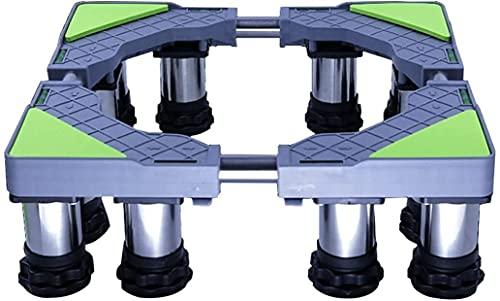 Ghongrm Aparato Refrigerador Pie de Pedestal Piedra Longitud Ajustable/Ancho 45-65 cm Frigorífico Congelador Soporte Soporte Universal High Estante Altura 14-17cm Bandejas de Enfriador de Vino Matie