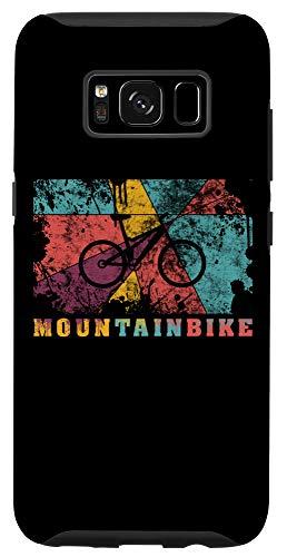 Galaxy S8 Mountain Biking Pop Art Color Splash Effect MTB Fully Case