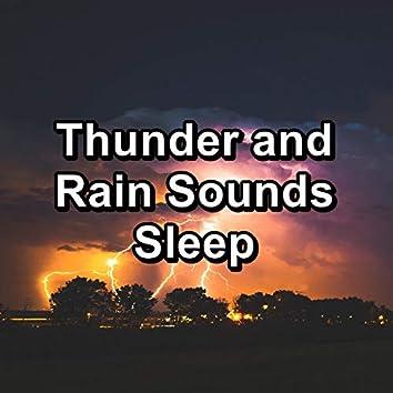 Thunder and Rain Sounds Sleep