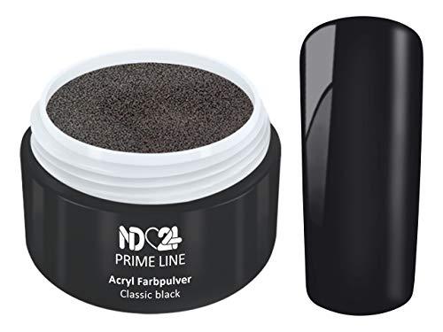 Prime Line - Acryl Pulver Schwarz - Feinstes Farb Puder - Studio Qualität - 5g