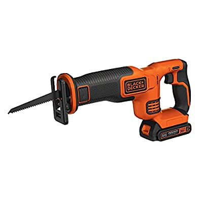 BLACK+DECKER BDCR20C 20V MAX Reciprocating Saw with Battery and Charger from BLACK+DECKER