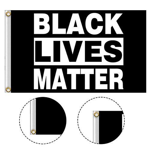 FLAG - BLACK LIVES MATTER Flag Banner liefert 90x150cm