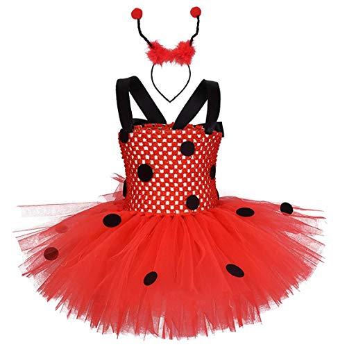 Disfraz de princesa para recin nacido, tut de tul, mariquita, abeja, disfraz de hada, disfraz de fiesta de cumpleaos con accesorios para nios pequeos, juego de rol, Supergirl Halloween, Navidad