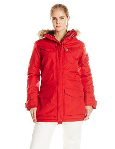 Fjallraven Women's Nuuk Parka, Red, X-Small by Fjallraven