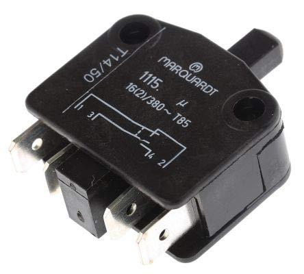 Unbekannt Marquardt 1115.0101 Drucktaster 380 V/AC 16 A 1 x EIN/(EIN) IP40 tastend 1 St.