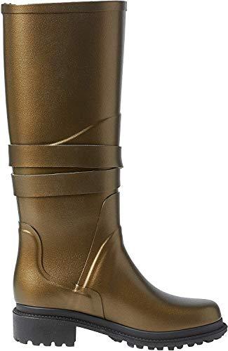 Aigle Damen Macadames Gummistiefel, Gold (GOLDBRONZE/Noir), 37 EU