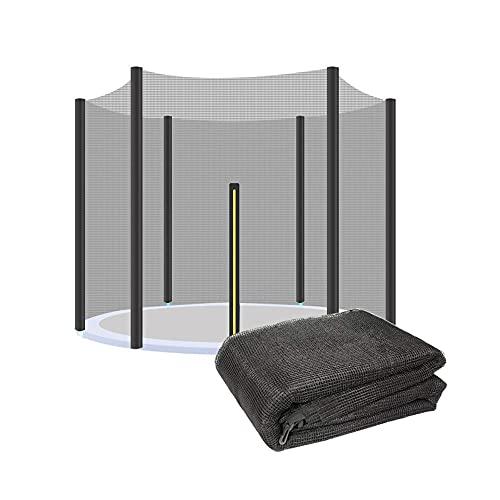 Trampolino Da Esterno Rete Di Sicurezza In Nylon Rete Protettiva Accessori Per Recinzione Trampolino Adatto Per Trampolini Da Giardino, Diametro Rete Trampolino 244,305,366,430 (Size:244 cm 6 stangen)