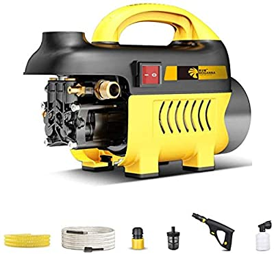 High Pressure Washer, Portable Jet Power Washer 1650W 320L/H Electric Pressure Cleaner With Accessories, Car/Patio/Yard Washing Machine For Home Garden Driveways dljyy from dljxx