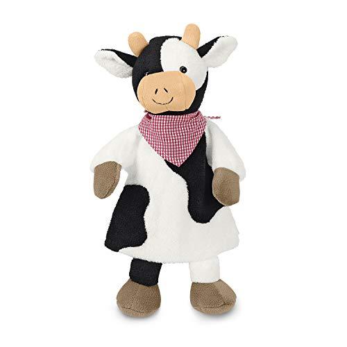 Sterntaler Handpuppe Kuh, 30 x 27 x 9 cm, Schwarz-weiß