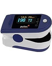Pulsoximeter PULOX PO-200A met inschakelbare alarmfunctie en pulston incl. accessoires *kleurkeuze mogelijk