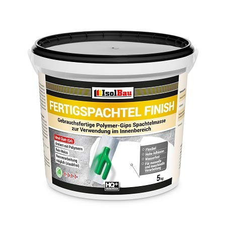 Spachtel masse Q4 Fertigspachtel Finish 5 kg Glätt Flächen Füll Fugenspachtel