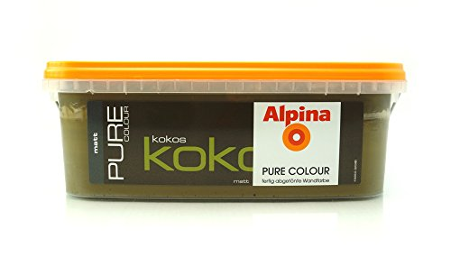 ALPINA Pure Colour, 2,5 L. Wandfarbe, Matt (Kokos)