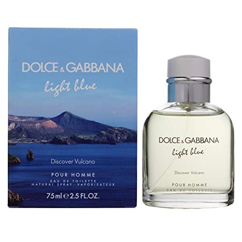 Dolce & Gabbana Light Blue Discover Vulcano Eau de toilette 75 ml uomo - 75 ml