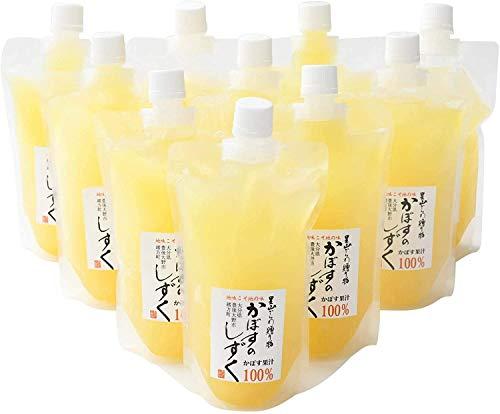 あねさん工房 無添加 生絞りかぼす果汁 100% 300ml×10本
