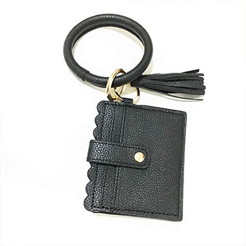 zeenca llavero de coche ,llavero de bolsillo inteligente regalo ( 2PCS) negro