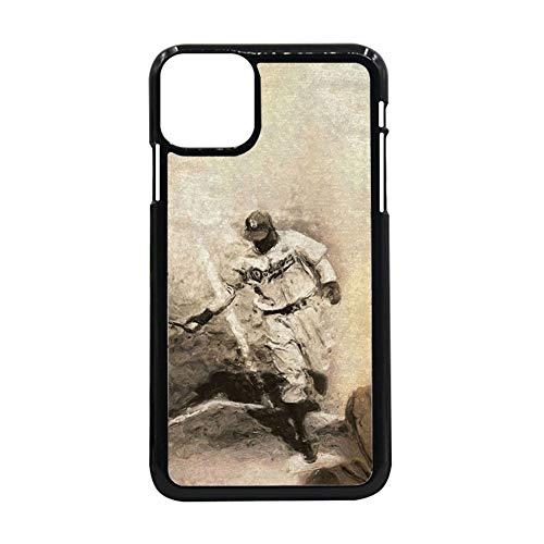 Desconocido Compatible para 6.1 Inch iPhone 12Pro Durabilidad Impresión Baseball 8 para Mujeres Conchas De Teléfonos Pc Duro
