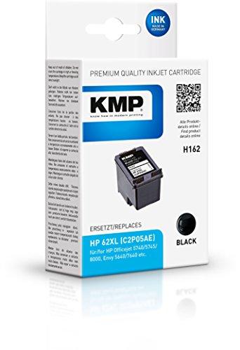 KMP H162 - Cartucho de tinta para impresoras (Negro, HP, Envy 5540 e-All-in-One Envy 5542 e-All-in-One Envy 5640 e-All-in-One Envy 5642 e-All-in-One, Inyección de tinta, Caja)