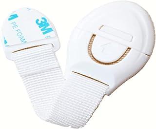 ORiTi Child Safety Locks (10 Straps), Drawer Webbing Safety Lock, Baby Anti-Pinch Hand Cloth Belt, Baby Safety Lock,Applia...