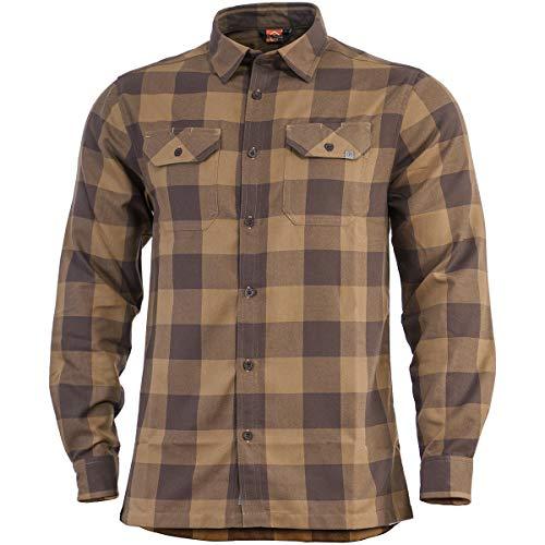 Pentagon Drifter Flannel Shirt Long Sleeve TB Checks size M