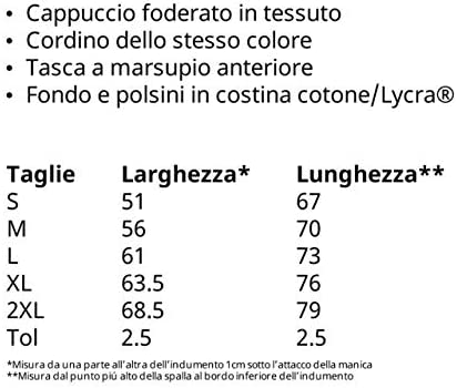 vestipassioni Felpa Cappuccio Lazio Tifosi Calcio Tutte Le Taglie 2 Colori