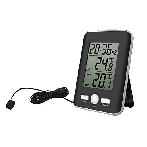 HCFSUK Termómetro Termómetro Digital Sensor de sonda con Cable Medidor de Temperatura...
