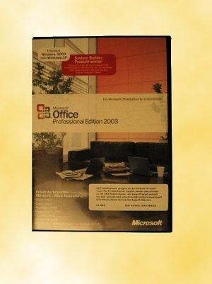 SB/MS Office Professional 2003 + SP1 CD W32 1PK NON OSB/ incl.Word, Excel, Outlook, PowerPoint, Publisher, Access 2003