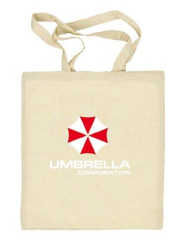 Shirtstreet24, Umbrella Corporation, Natur Stoffbeutel Jute Tasche (ONE SIZE), Größe: onesize,natur