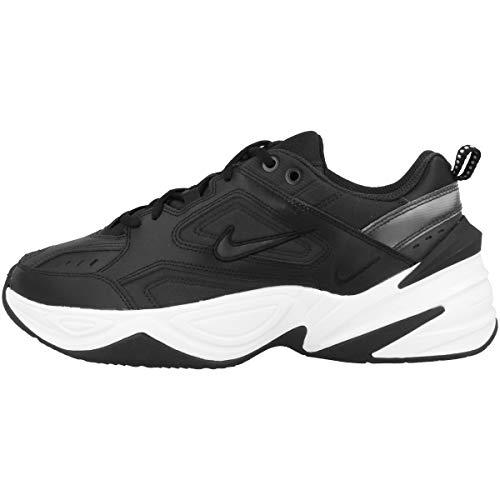 Nike Damen W M2K TEKNO Gymnastikschuhe, Schwarz (Black/Oil Grey/White 002), 41 EU