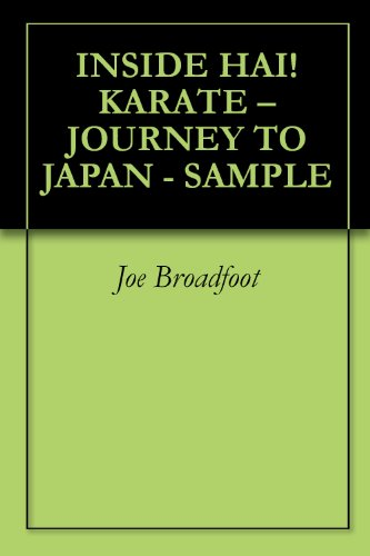 INSIDE HAI! KARATE – JOURNEY TO JAPAN - SAMPLE (English Edition)