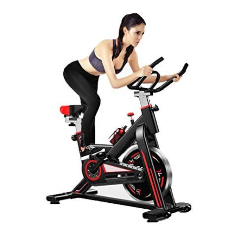 HLEZ Bicicleta estática Profesional Volante de inercia 11kg pulsometro - silencioso Y Caldera de aleación de Aluminio + Soporte para teléfono móvil