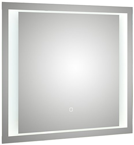 PELIPAL S17 Flächenspiegel/Aluminiumrahmen/LED Effektlicht/FSP 10 / B: 80 cm