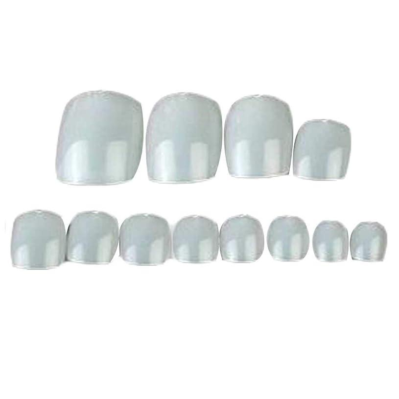 十代の若者たち柔らかい圧縮する500個のナチュラルカラー人工爪のヒントフルカバー偽爪