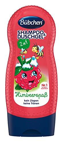 Bübchen Kids Shampoo und Shower Himbärspaß, 230 ml