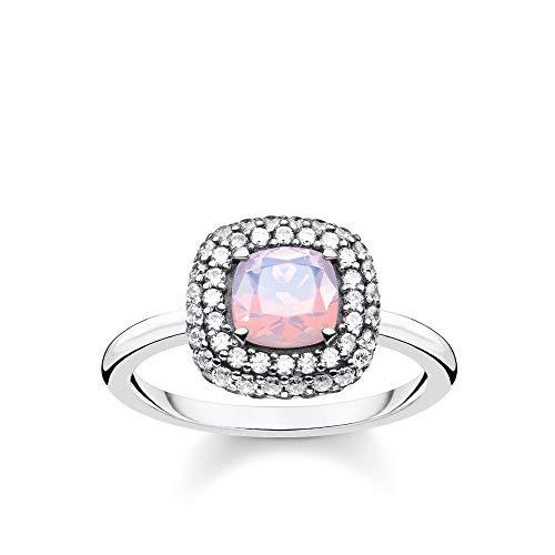 Thomas Sabo -Ringe 925_Sterling_SilberGlas '- Ringgröße 52 TR2287-347-7-52