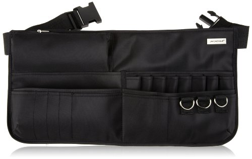Falda Japonesque con cinturón para utensilios cosméticos y pinceles
