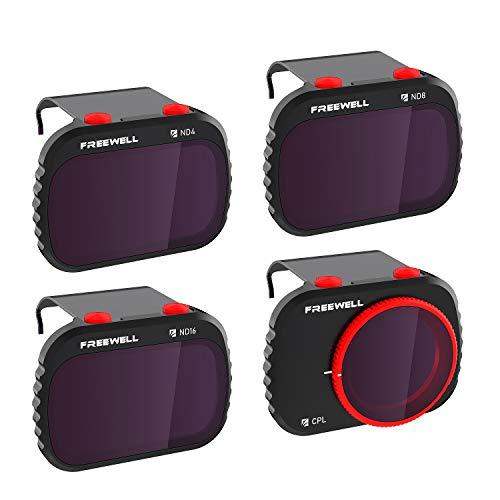 Freewell Standard Day - 4KSeries - 4Pack Filters Kompatibel mit Mavic Mini/Mini 2