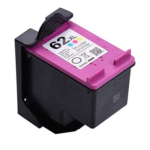 Aibecy Druckerpatronen Ersatz der Dreifarbigen Tintenpatrone 1200 dpi Kompatibel mit dem MBrush HandHeld Tintenstrahldrucker HP 62XL Deskje