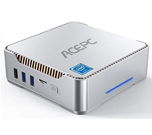 AK3 Mini PC, ACEPC Windows 10 Pro Intel Celeron N3350, 4 GB DDR3...