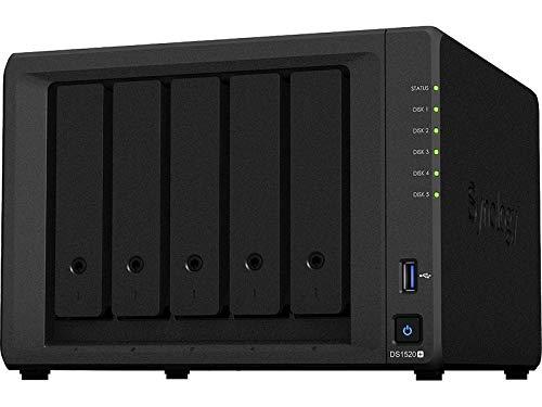 Synology Diskstation DS1520+ (5 Bay Desktop-NAS-Gehäuse)