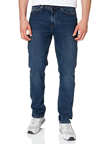 Springfield Jeans Regular Lavado Pantalones, Azul Oscuro, 40